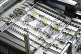 Máquina de impressão giratória da tela de seda do cilindro automático sem parar do sistema (1050X750mm)