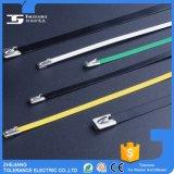 التموين المصنع الايبوكسي المغلفة PVC SS304 الفولاذ المقاوم للصدأ الكابل التعادل
