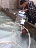 Cachoeira interna ao ar livre da fonte de parede do jardim da piscina do aço inoxidável