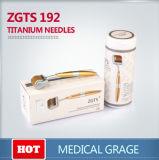 ZgtsチタニウムのDermaのローラーの皮療法の反老化のセルライト