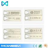 최신 판매 대량 싼 선전용 상표가 붙은 금속 USB 지팡이 섬광 드라이브