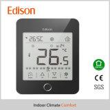 220V thermostat de pièce de l'écran tactile LCD FCU