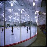 Доска ясного поликарбоната стеклянная для пола кататься на коньках льда