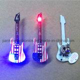 Pin su ordinazione del magnete di lampeggiamento della chitarra LED (3161)