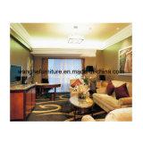 Nuevos muebles del dormitorio del hotel del diseño con la tela