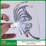 Vendita calda di Qingyi del vinile metallico di scambio di calore per il tessuto