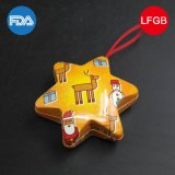 Small Smart Hexagram Pendant Iron Box/Tin Box/Gifts Box (HS001 - V8)