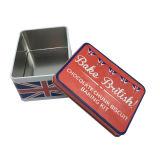 Boîte en fer blanc de cadeau de Noël pour le conditionnement des aliments