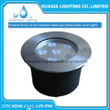 IP68 6PCS 18wattの水中LEDによって引込められるライト
