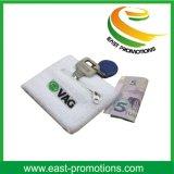 綿のジッパーの札入れのポケットSweatband