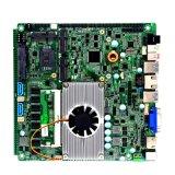 Сердечник I7 5500u Intel удваивает материнская плата врезанная сердечником с VGA Lvds для киоска тонкого клиента