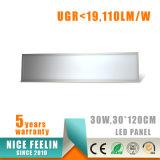 110lm/W Ugr<19, luz de painel do diodo emissor de luz 30W de 300*1200mm