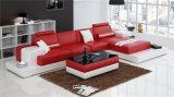 居間の家具(HC1040)のための新しい現代ホーム革ソファー