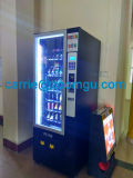 Mini máquina expendedora automática para latas y bebidas con sistema de pago