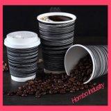 Taza de papel de encargo para el café