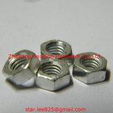 Gr8 en acier au carbone blanc zingué DIN 934 Ecrou hexagonal