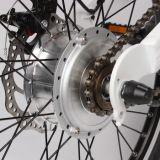 Зеленый Bike силы 200W электрический миниый с индикацией СИД