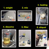 إختبار صيدلانيّة قابل للحقن كيميائيّة [إننثت]/تستوسترون [إننثت] [أنبوليك سترويد] 315-37-7