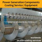 Оборудование для нанесения покрытия вольфрама для корозии сопротивляет процессам/машинам покрытий для станции производства электроэнергии ведер винтов Converyer парашютов