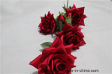 Романтичный искусственний красный цветок Роза фальшивки цветка Rose для украшения дома венчания