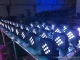 Het Licht van het PARI van de Batterij van het Effect van het stadium 9PCS met Draadloze LEIDEN Vlak Licht