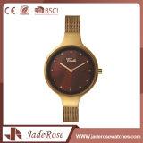 Reloj resistente redondo del cuarzo de agua del modelo clásico del estilo