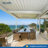 Écran en aluminium imperméable à l'eau de paquet de patio