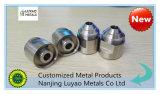 Erfahrener CNC, der mit Edelstahl/Messing-/Aluminiumpräzision CNC-maschinell bearbeitenteilen maschinell bearbeitet