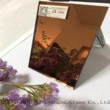 espejo de oro de 5m m/espejo de plata colorido/espejo coloreado de cristal para decorativo