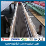 grado 316L diámetros inconsútiles del tubo del horario del acero inoxidable de 8 pulgadas