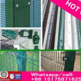 Prisionの塀の高品質の有刺鉄線の網358fence/安全空港塀/358反上昇の塀