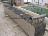 シャワーの廃水の熱回復熱交換器304のステンレス製材料