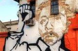 Enfriar la calle de la pared del arte pop de la estrella impresiones Retrato de lona