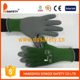 Ddsafety 2017 Cotton Napping Inside Grey Latex Foam Finished Gloves