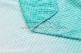 ジャカードによって印刷されるフランネルの羊毛毛布-勾配のピンク