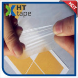 El doble del animal doméstico del claro del trazador de líneas del papel del desbloquear del papel cristal de Brown echó a un lado cinta