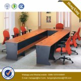 현대 L 모양 행정상 책상 베니어 사무실 테이블 (NS-NW089)