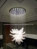 길들이십시오 디자인 호화스러운 꽃 모양 복도 프로젝트 수정같은 샹들리에 (KA1027)를