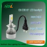 Pièces de rechange LED Phares Automobiles Moto C6 H4 H13 9004 (9007) H1 H3 H7 H8 H9 H11 9005hb4 9006hb3 880 881 H15 9012