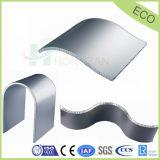 Comitati di alluminio curvi del favo per il comitato di parete decorativo