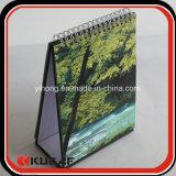 Impresión de escritorio del calendario de la tienda del paisaje