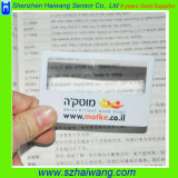 Lámina de plástico de Fresnel de la manija de la tarjeta con la hoja del PVC (HW-802)