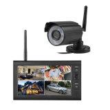 Drahtloser Monitor der Digital-Überwachungsanlage-Rückseiten-Kamera-1 mit 1 Kamera