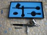 에어브러시 소형 손 분무기 이중 활동 에어브러시 장비