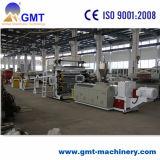 Protuberancia plástica de la producción de la tarjeta de mármol de Pvcartificial que hace la línea de la máquina