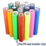 Cuttable Heat Transfer Vinyl PU Flex for Cutting
