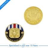 Moeda de desafio de lembrança de ouro personalizado para presente de promoção