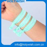 Полоса волос уникально изготовленный на заказ эластичного Wristband цветастая для повелительницы