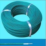 caucho de silicón 22AWG aislado y cable de la fibra de vidrio