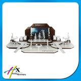 Concevoir le stand en bois de montre d'acrylique de forces de défense principale d'étalage à extrémité élevé de montre